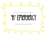 B Emergencies