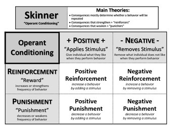 B. F. Skinner Notes: Operant Conditioning