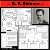 B. F. SKINNER Research Project Timeline Poster Poem Biography Graphic Organizer