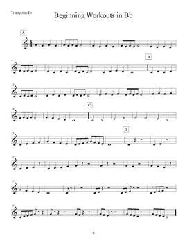 B Flat Beginner Band Workout