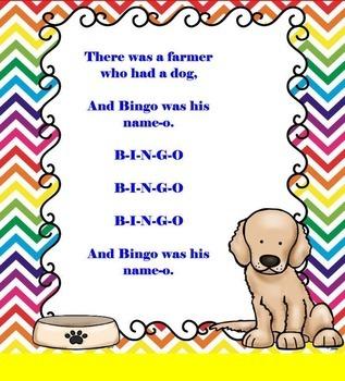 B-I-N-G-O: A Song About Man's Best Friend - PDF Edition