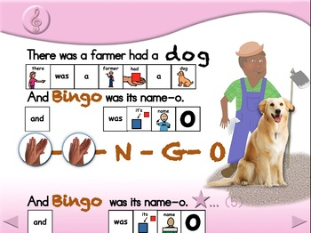 B-I-N-G-O & Friends - Animated Step-by-Step Song - PCS