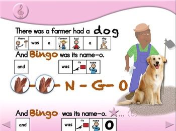 B-I-N-G-O & Friends - Animated Step-by-Step Song - SymbolStix