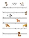 B-I-N-G-O Violin