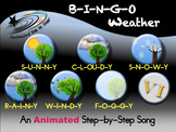 B-I-N-G-O Weather - Animated Step-by-Step Song - VI