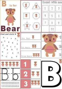 B Is For Bear Mini Unit