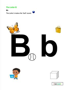 B Is For Butterfly by I Can Learn
