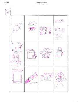B, M, & R Initial Consonant Sound Pictures