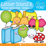B Set - Clipart Graphics for the Letter Sound B