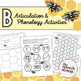 Letter B Sound and Word Worksheet Practice