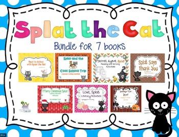 Splat the Cat  - 7 Book Bundle