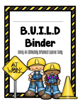 Build Take Home Binder Cover