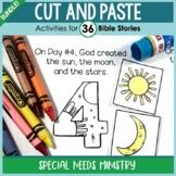B&W Cut and Paste Bible Stories Bundle