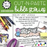 B&W Cut-n-Paste Bible Stories Set 3