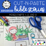 B&W Cut-n-Paste Bible Stories Set 6