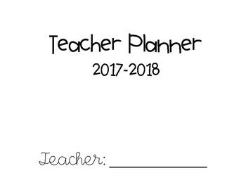 B&W Teacher Planner & To-Do Lists - FREE UPDATES!!!