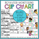 Positive Minded Clip Chart: Behavior Monitoring Visual (B+
