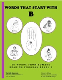 Edmark Activities for Word Identification: B-Words