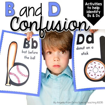 B And D Confusion Activities By Angelia Extra Special