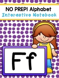 Interactive Notebook - Letter F