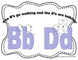 B and D Distinction Anchor Chart