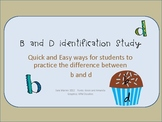 B and D Identification Study