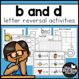 B and D Letter Reversal Activity Pack