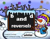 Winter B and D Reversals  Intervention Literacy Centers an