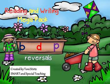 B and D reversal worksheets for Beginning and Older Readers RTI