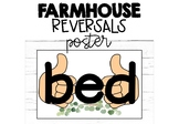 B and D Reversals Poster- Bed