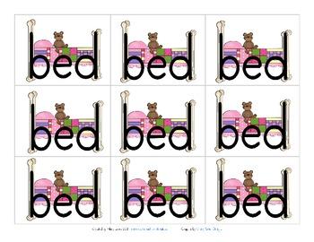 B and D reversals - visual reminder FREEBIE