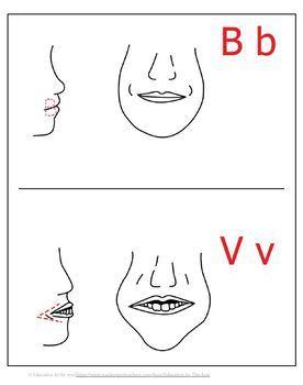 B and V Sounds ESL