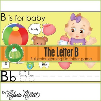 B is for Baby File Folder Game