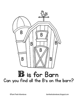 Phonics Farm: B is for Barn