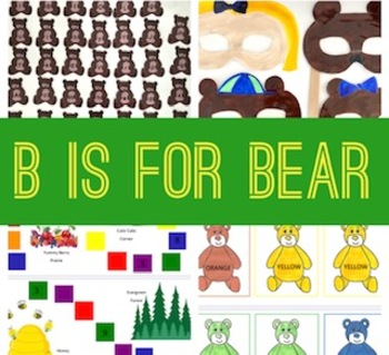 B is for Bear Activity Booklet