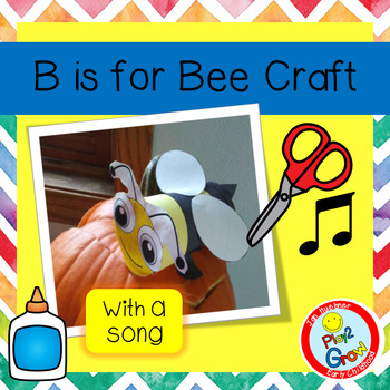 """B is for Bee and See """"A Bee on a Pumpkin""""!"""