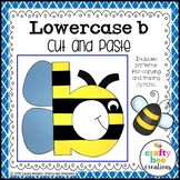 Letter B Craft   Bee Craft   Alphabet Crafts   Lowercase Letter Activities