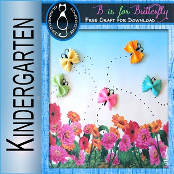 B is for Butterfly Craft Freebie