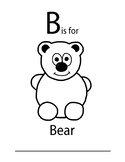 B is for worksheet FREE