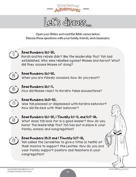 B'midbar | Numbers Torah Portions Activity Book