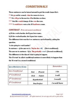 B1.06.a Conditionals Chart