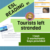 B1 Reading 1 : Total disaster holiday