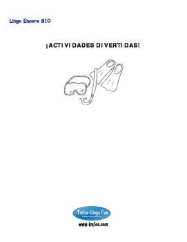 B10-¡ACTIVIDADES DIVERTIDAS!