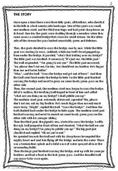 B2 The 3 Billy Goats - ESL worksheets