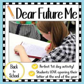 B2S Activity: Dear Future Me