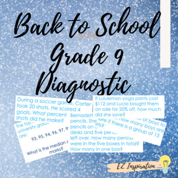 B2S Elementary Math Review (Grade 9 AP & Academic Math)