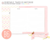 B6 Ruled Notes Traveler Notebook Refill