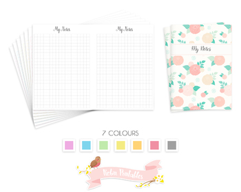 B6 Squared Notes Traveler Notebook Refill