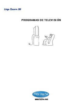 B9-PROGRAMAS DE TELEVISIÓN