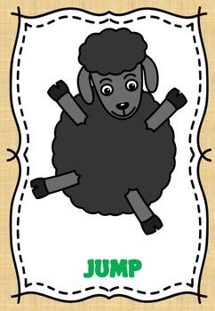 BAA BAA BLACK SHEEP FREEZE DANCE (BRAIN BREAK)